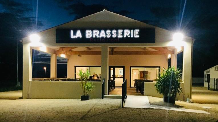 Facade du restaurant La Brasserie