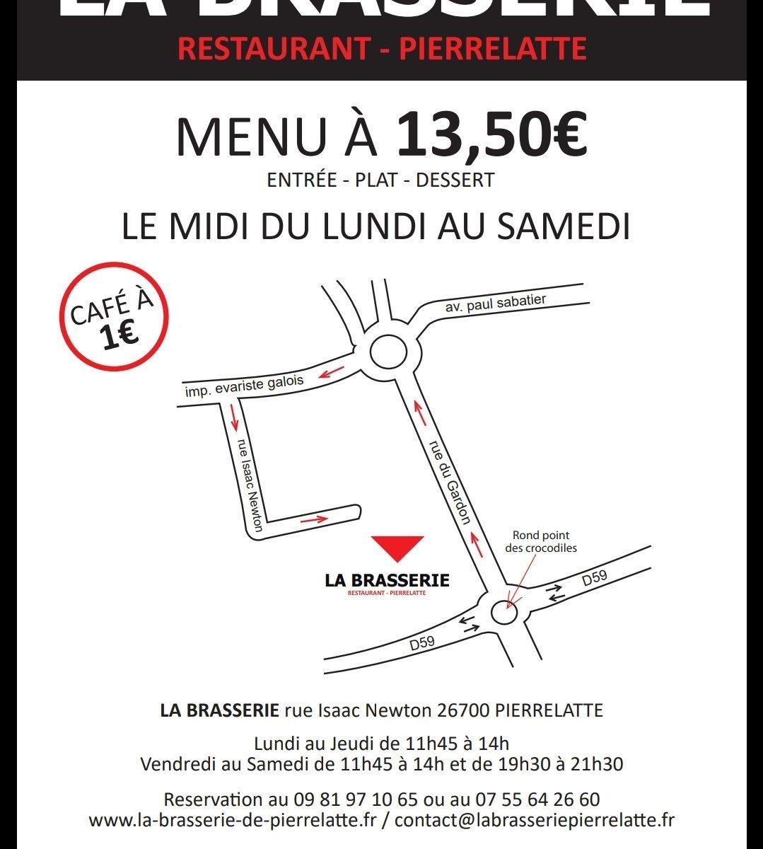 Plan d'accès La Brasserie