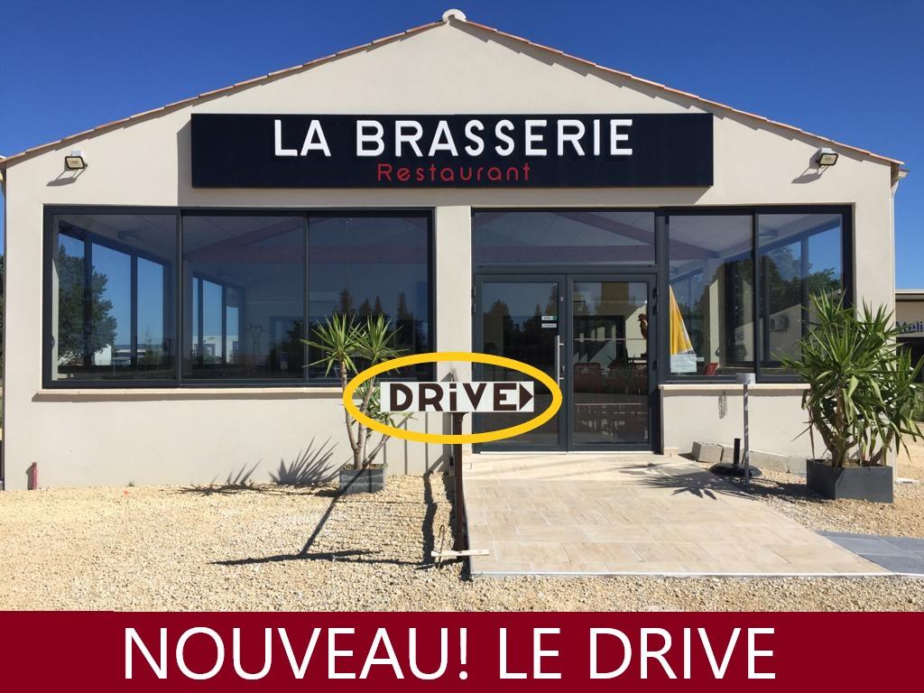 La Brasserie, le drive